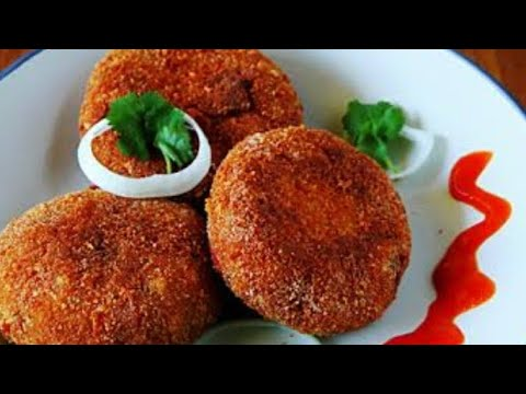 Chicken Cutlets Recipe | How To Make Chicken Cutlets At Home