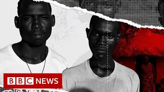 The Displaced: The African country that welcomes refugees - BBC News