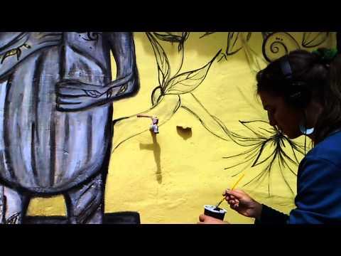 evolving CHOCO mural~✯=)˙