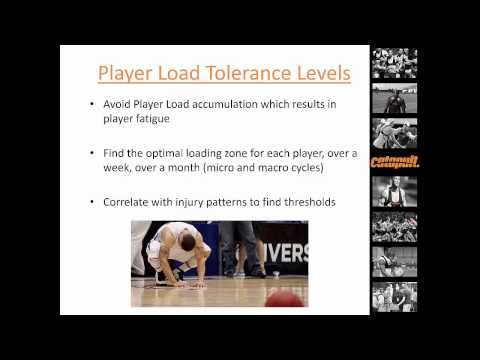 PlayerLoad as a marker of fatigue in basketball