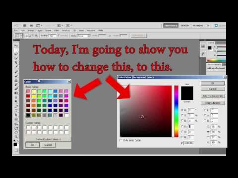 Photoshop Change The Color Picker