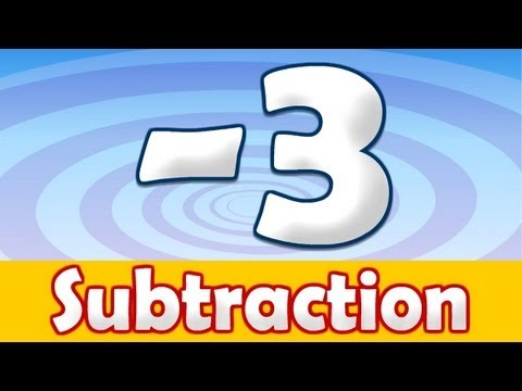 Subtraction - 3 Math Song