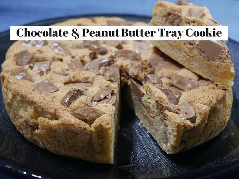 Chocolate & Peanut butter tray cookies
