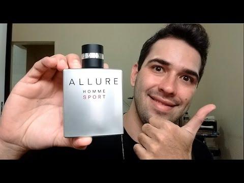 Allure Homme Sport - Chanel (Resenha) Perfume Masculino