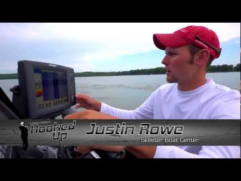 Hooked Up! Bass: Locate fish with Humminbird side-imaging