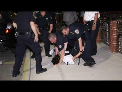 Stabbing suspect resisting arrest in Bensonhurst