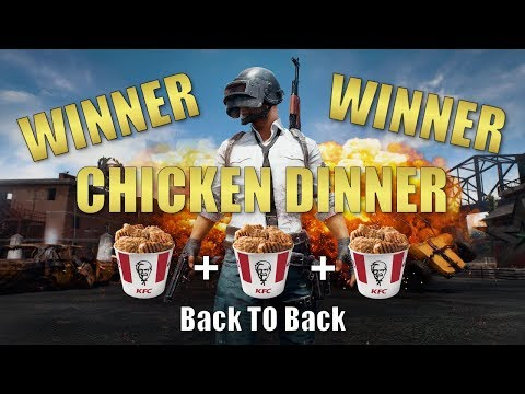 Winning 3 Games in a row, back to back on PUBG
