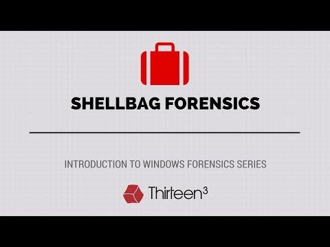 Shellbag Forensics