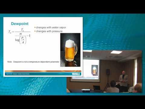Vaisala Dew Point/Frost Point tutorial
