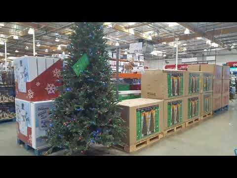 Costco LED 9 ft and 7.5 ft Christmas Trees!