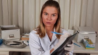 [ASMR] Doctor Lizi Checks Your E.N.T. Medical RP,  Personal Attention