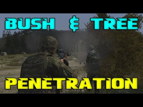 Tree & Bush Penetration | Why players seem immortal in bushes