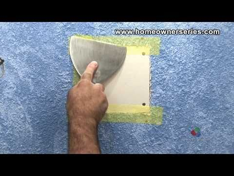 How to Fix Drywall - Lath Strip Patch - Drywall Repair - Part 2 of 2