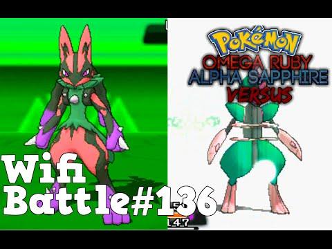 Pokemon ORAS / X&Y Wifi Battle #136: Steel Battle - Lucario vs Bisharp (Omega Ruby & Alpha Sapphire)