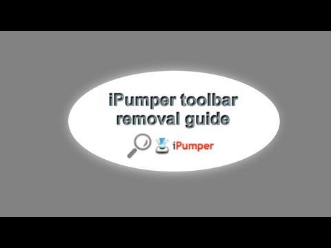 iPumper toolbar removal guide