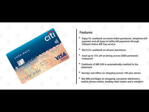 How to Apply for Citi Cash Back Credit Card