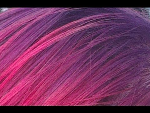 ~How To Dye A Gradient In Your Hair From Purple To Red~