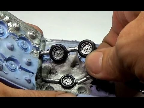 How to cast your own wheels for Hot Wheels customs