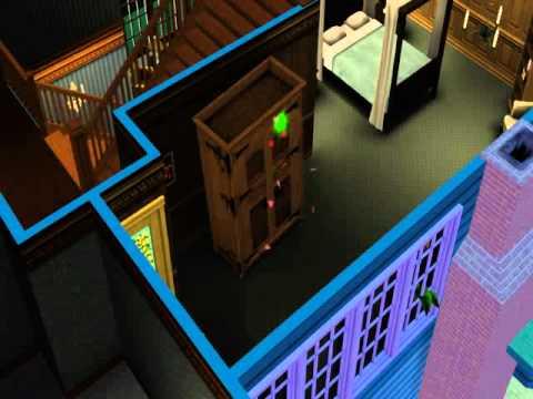 Sims 3 Supernatural - Sim & Werewolf WooHoo in Wardrobe
