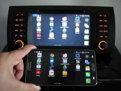 BMW E39 E53 AVIN Avant 2 MirrorLink Android Multimedia Navigation System