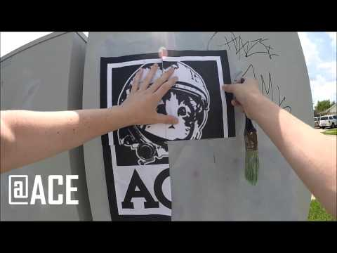 Poster Wheatpasting