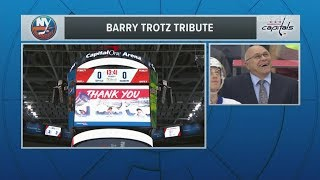Download Barry Trotz Honored By Capitals In Washington Return Video
