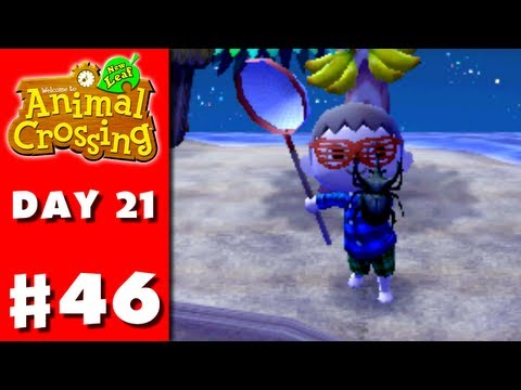 Animal Crossing: New Leaf - Part 46 - More Island Bugs (Nintendo 3DS Gameplay Walkthrough Day 21)