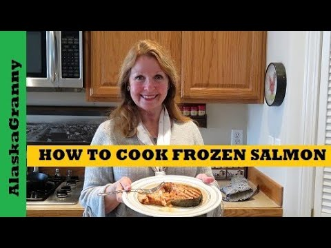 How to Cook Frozen Freezer Burned Salmon Whisky Garlic Marinade