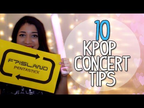 10 KPOP Concert Tips!