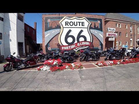 Day 1, Harley Davidson, Route66, EagleRider, Crossing US