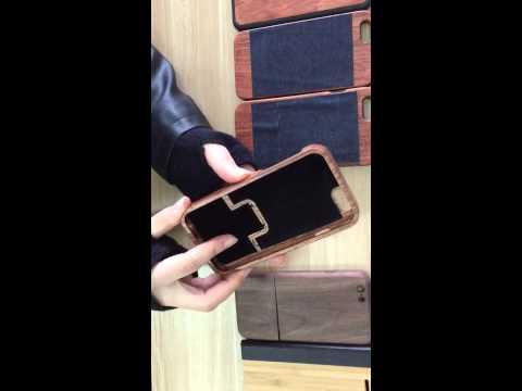 Iphone 6 wood Case