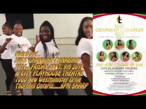 MISS GHANA CANADA BEAUTY PAGEANT 2016