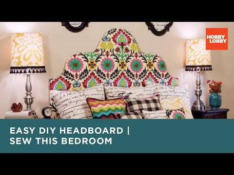 Sew This Bedroom: Headboard