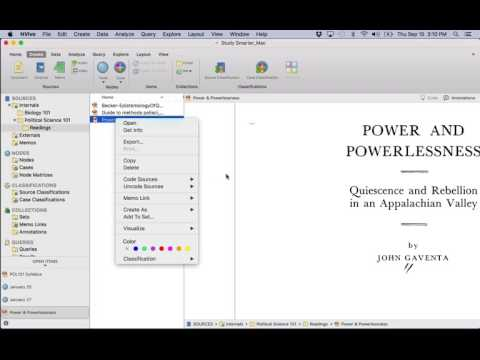 Study Smarter with NVivo for Mac