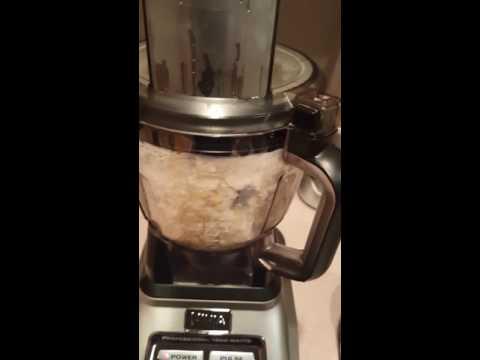 Making fufu with Ninja food processor