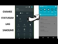 Samsung S9 Statusbar Install In Any Android Phone