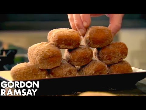 Homemade Chocolate Donuts - Gordon Ramsay