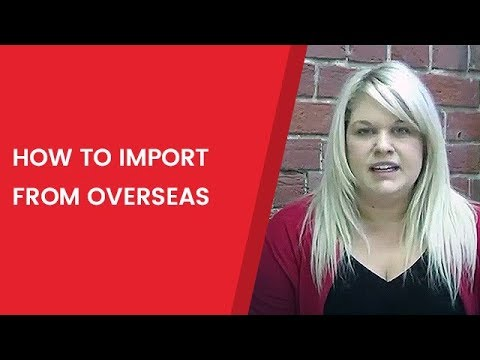 How to import from overseas