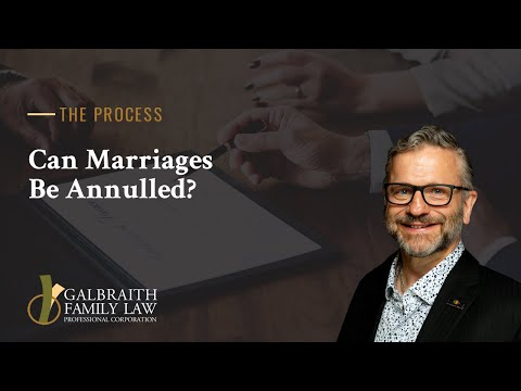 Can Marriages Be Annulled?