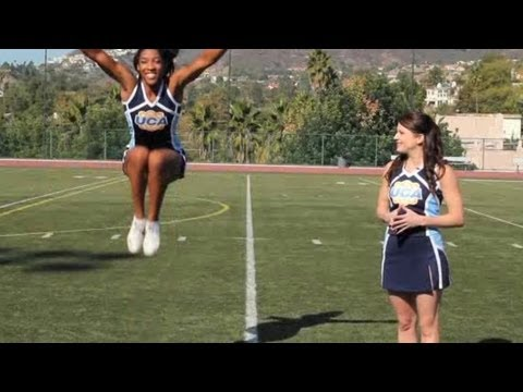 Basics of Cheerleading Jumps | Cheerleading