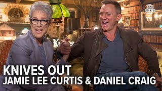 Knives Out: Daniel Craig & Jamie Lee Curtis Funny Interview | Extra Butter