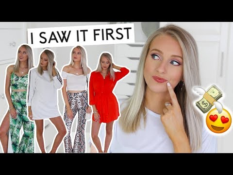 I SAW IT FIRST *HUGE* TRY-ON HAUL! 💸 Yay or Nay?