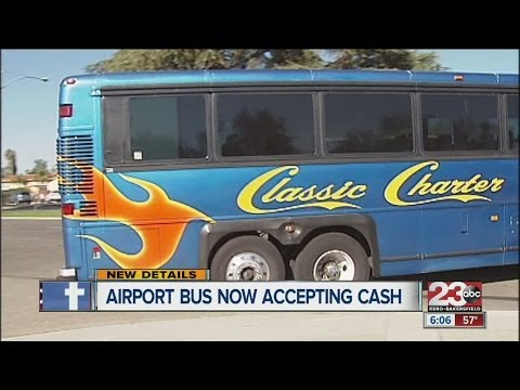 Airport bus service begins daily routes from Bakersfield to LAX