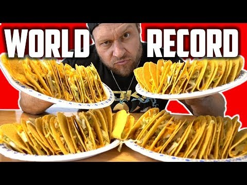 Most Tacos Eaten in 2 Minutes (NEW World Record) *HARD SHELL TACOS*   Becoming Furious Pete (Ep 2)