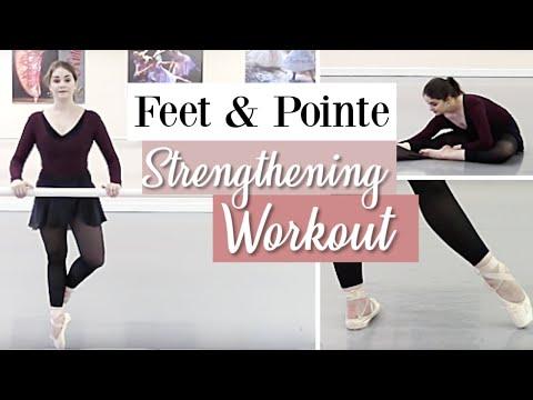 Feet & Pointe Strengthening Workout | Kathryn Morgan