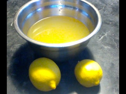 Home Remedy for Dandruff and Dog Fleas with Lemon Rind