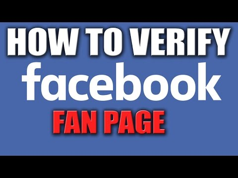 How to Verify Facebook Page 2016 - Get Verified Facebook Page