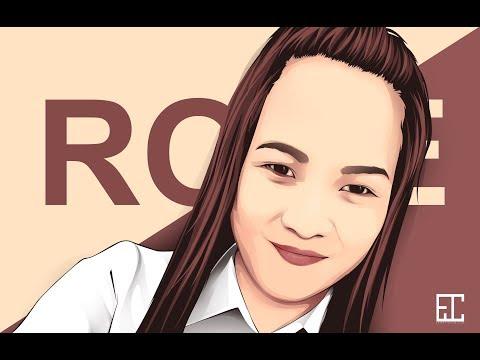 Cartoon Effect / Vector Art / Vexel Art - Photoshop CS6 (Tutorial) - Rose Anne