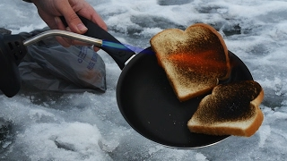 Cooking Breakfast with a Blow Torch