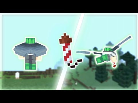 Best way to fly with Firework rocket! (MCPE 1.2)